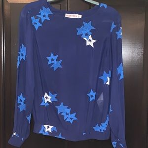 See By Chloe Stars Blouse